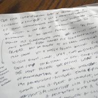 A Writer, Being Written